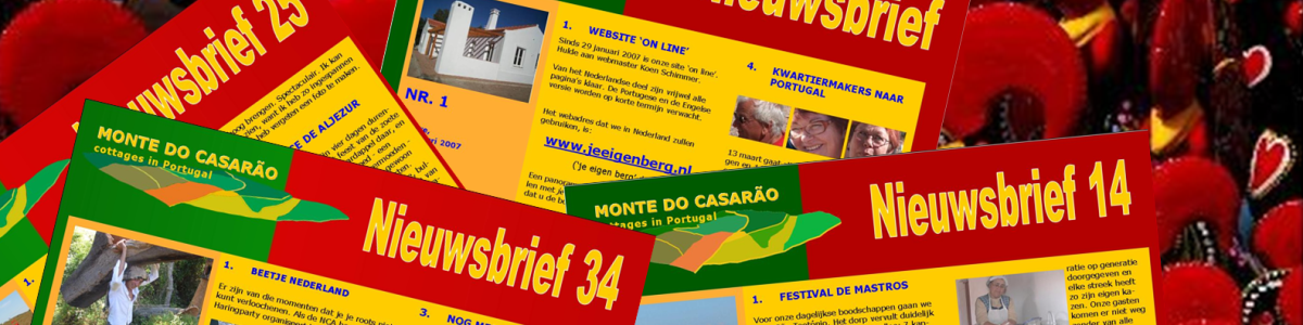 Nieuwsbrief Monte do Casarao