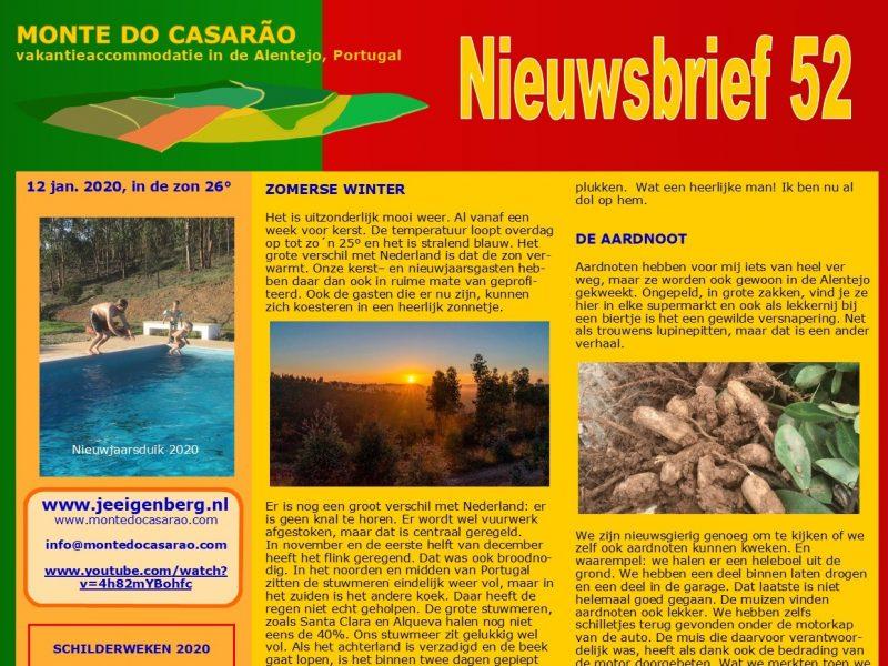 Nieuwsbrief Monte do Casaraõ