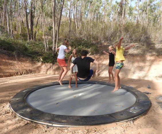 trampoline Monte do Casarão